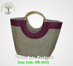 Cane handle Jute Beach Bags manufacturer