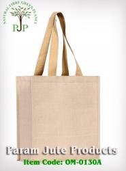 Recyclable Jute cotton Shopping Bags