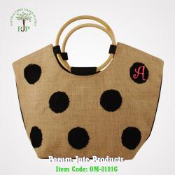 Natural Jute Beach Bags manufacturer