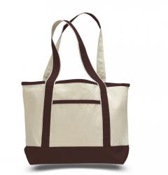 Reusable Heavy Canvas Deluxe Tote Bags
