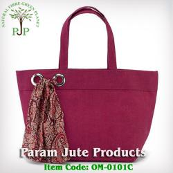 Self handle Jute Beach Bags supplier